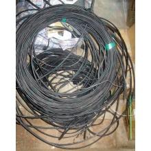 Оптический кабель Б/У для внешней прокладки (с металлическим тросом) в Белгороде, оптокабель БУ (Белгород)
