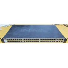 Управляемый коммутатор D-link DES-1210-52 48 port 10/100Mbit + 4 port 1Gbit + 2 port SFP металлический корпус (Белгород)
