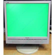 """Б/У монитор 17"""" Philips 170B с колонками и USB-хабом в Белгороде, белый (Белгород)"""